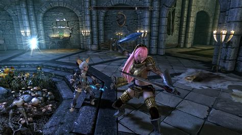 skyrim anime mod girls skyrim nexus mods and community