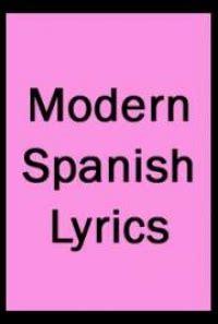 modern spanish lyrics by various free book download