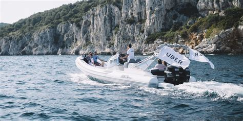 uber boat app uber for boats croatian island hoppers can try the ride