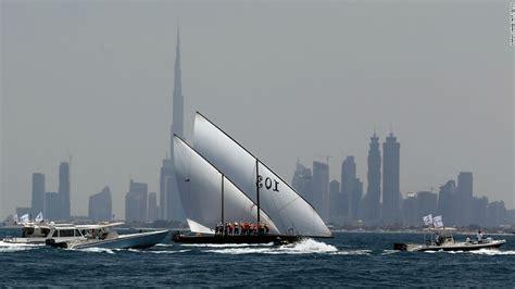 sailing boat dubai world s biggest dhow to set sail from dubai cnn