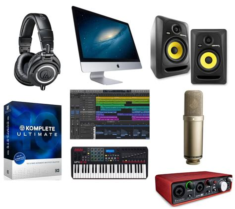 image gallery home studio equipment