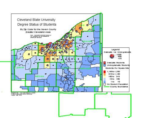 printable area c cleveland area zip code map zip code map