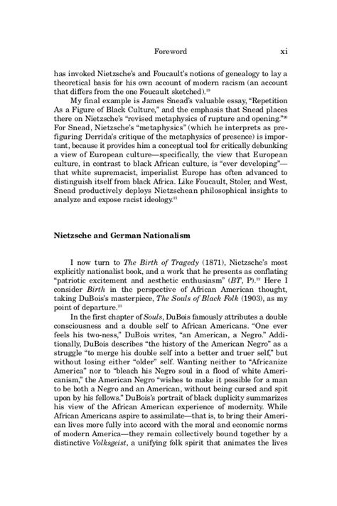 Racial Formation Essay by Nietzsche And American Thought