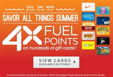 Kroger Disney Gift Card - 4x fuelpoints when you buy any gift card from kroger buy as a gift or for self use