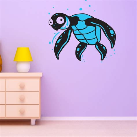 turtle wall stickers turtle wall stickers underwater wall stickers