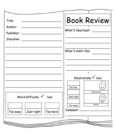 sle of book report for elementary book report sheet 28 images 10 sle book report free