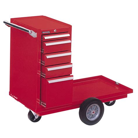 Five Drawer Tool Cart by Kennedy 415xr 5 Drawer Versa Cart Tool Cart W Bearing