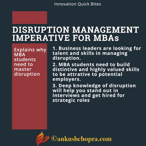 How Likely Is An Mba To Help Gain Leadership Position by Disruption Imperative For Mba