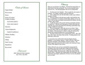 memorial order of service template blank obituary program pictures to pin on
