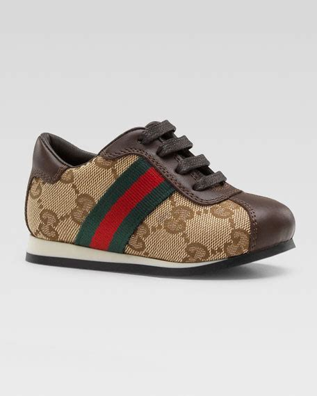 gucci toddler shoes gucci toddler icon lace up shoe