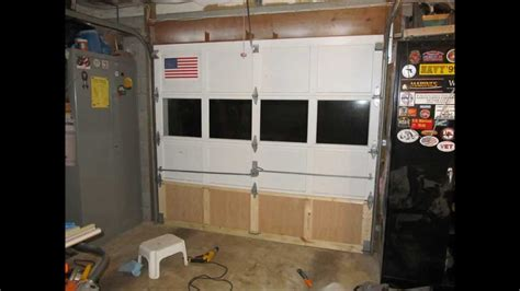 wood garage door panel replacement garage door repair slideshow 20130816