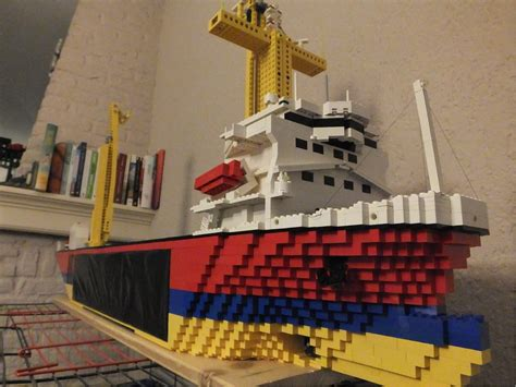 how to build a lego boat video how to make a floating lego boat youtube