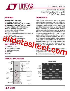 0 1 uf smd capacitor datasheet lt1180a datasheet pdf linear technology