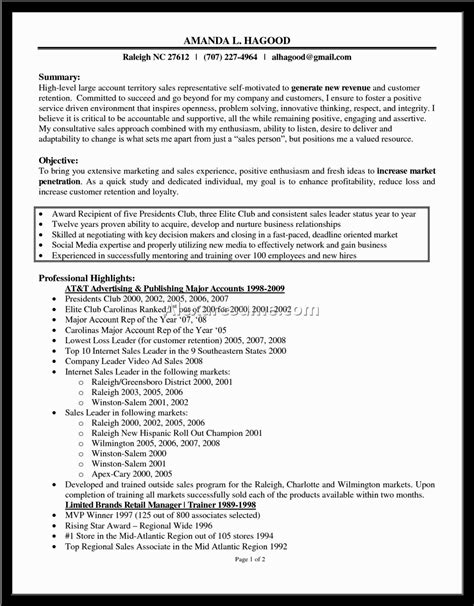 Resume Cover Letter Sles For Sales Rep resume sles for nurses 28 images resume for nursing