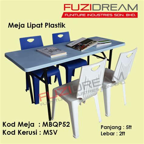 Meja Plastik Panjang meja sekolah school table pembekal perabot sekolah
