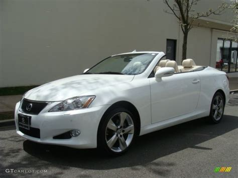 lexus convertible 2010 2010 starfire white pearl lexus is 250c convertible
