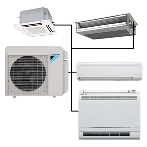 ductless mini split cassette daikin custom multi zone mini split ductless cassette