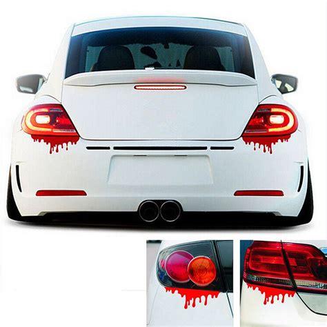 Car Sticker by New 2016 Blood Bleeding Car Stickers Reflective Car