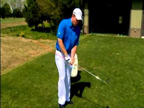 golf swing hands first hands in front on golf swing youtube