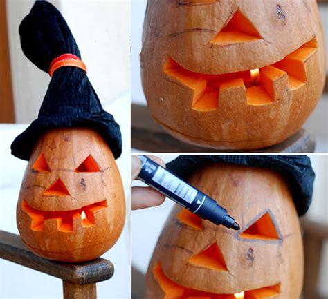 how to make a pumpkin lantern 4 creative pumpkin craft projects made of