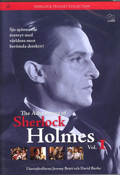se filmer the adventures of sherlock holmes gratis adventures of sherlock holmes vol 1 2 disc dvd
