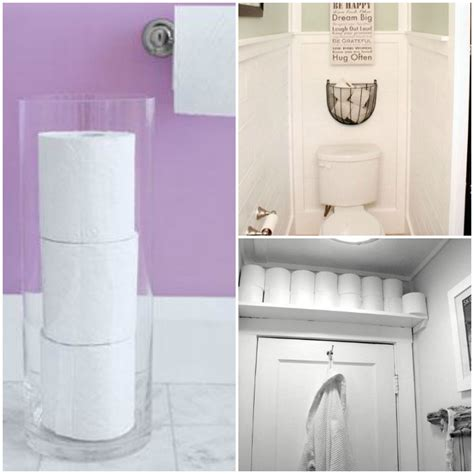 toilet paper roll storage 15 nifty ways to store toilet paper
