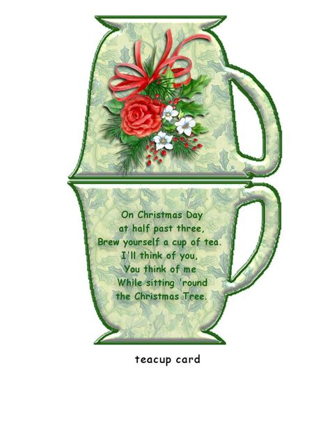 tea bag holder card template 226 best images about my tea on tea cups