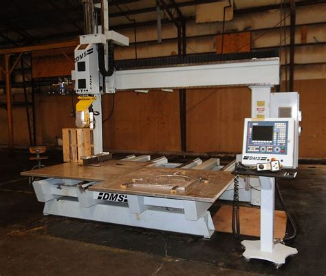 5 axis router table used dms 5 axis cnc router e482 cnc parts dept inc