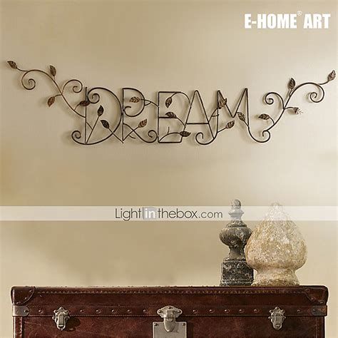 metal wall letters home decor e home 174 metal wall art wall decor patterns of leaf and