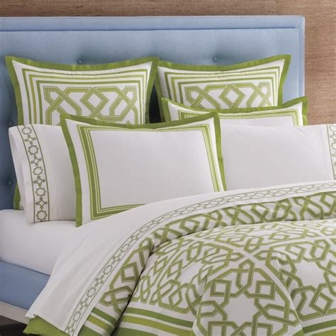 jonathan adler bedding jonathan adler bedding parish green duvet cover king