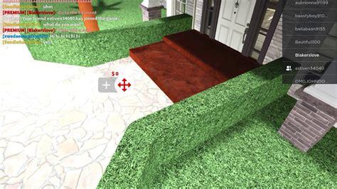 add steps   front door  bloxburg youtube