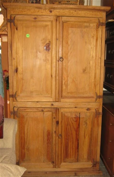 mexican pine armoire uhuru furniture collectibles mexican rustic pine
