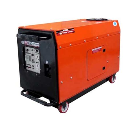 silent ge 7000ps portable generator in india by hpm