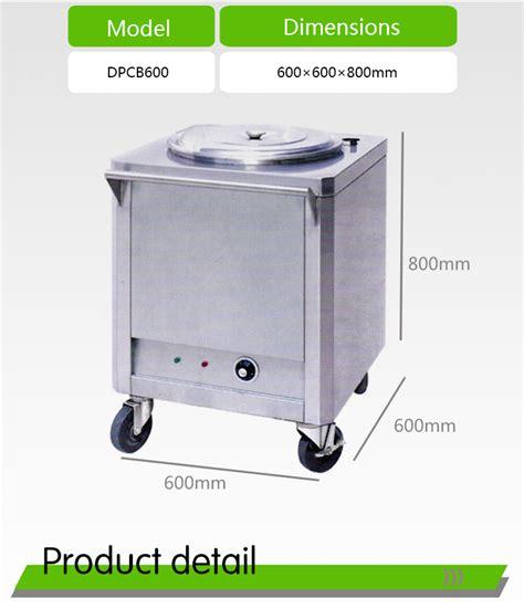 electric food warmer cart electric rice warmer trolley soup warmer dpcb dongpei