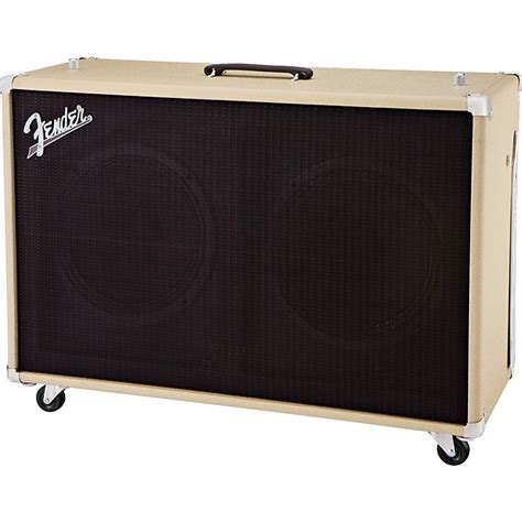 Fender 2x12 Cabinet by Fender Sonic 60 60w 2x12 Guitar Speaker Cabinet