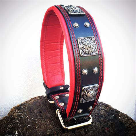 Width 1 5cm Collar Black collars collars for large and breeds quot eros