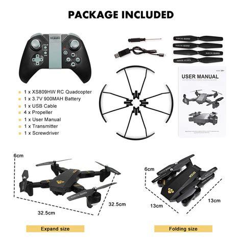 Murah Ori Drone Visuo Xs809hw 3 Battery Wifi Fpv 2mp wifi arm fpv quadcopter 9jabazaar