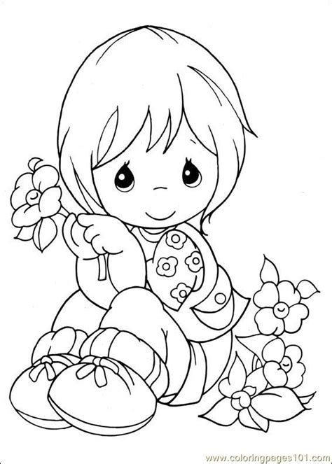 Free Coloring Pages Of Precious Moments Animals Precious Moments Coloring Pages