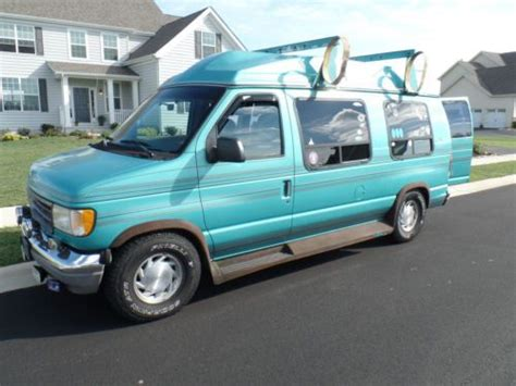 how to learn about cars 1994 ford econoline e250 security system sell used 1998 ford 15 passenger van no reserve nr in sims north carolina united states