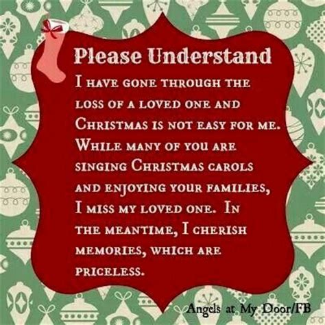 words of comfort at christmas for bereaved holiday grief quotes quotesgram
