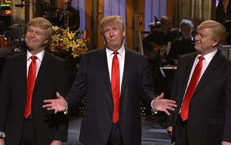 donald trump snl am i the only person who thinks larry david wasn t funny