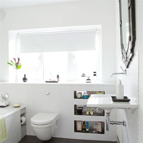 Modern Bathroom Ceiling Lights Uk Www Energywarden Net Be Inspired By This Light And Bright Bathroom Makeover Ideal Home