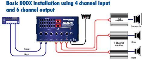 4 channel lifier wiring diagram wiring diagram