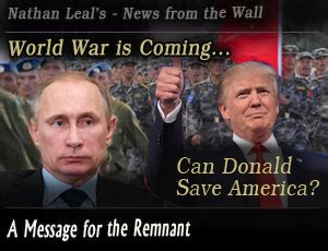 donald trump world war 3 audio message news from the wall donald trump and