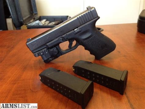 Armslist For Sale Glock 19 Carry Package Green Laser