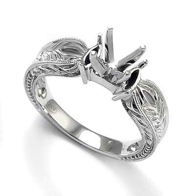 ring settings white gold ring settings without stones uk