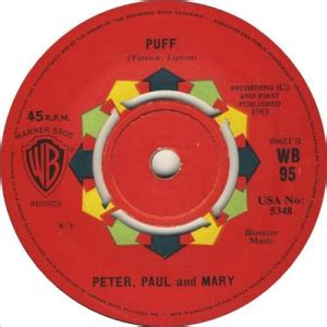 big boat by peter paul and mary puff the magic dragon released by peter paul mary