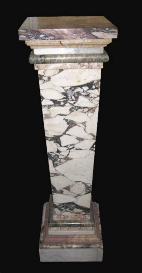 Pedestal Magazine Submissions napoleon iii marble pedestal for sale antiques classifieds