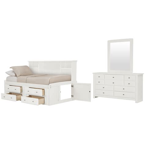 white bookcase with storage city furniture laguna white bookcase daybed storage bedroom