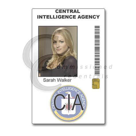 Nsa Id Card Template by Cia Id Card Pictures To Pin On Thepinsta